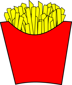 French Fries Modern Clip Art at Clker.com - vector clip ...