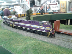 Model Train - Atlantic Cost Line Image