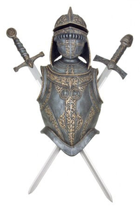 Shield Breastplate Helmet Image