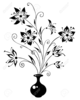Free Winter Flower Bouquet Clipart Image