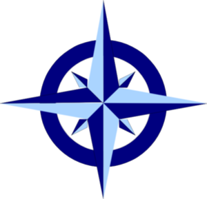 Blue Compass Rose Md Image
