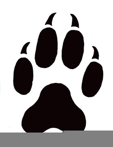 Free Clipart Cat Paw Print Free Images At Clker Com Vector Clip Art Online Royalty Free Public Domain