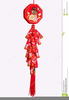 Chinese New Year Firecrackers Clipart Image