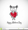 Mothers Day Card Clipart Image