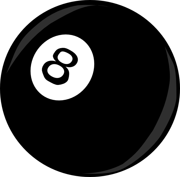 nine ball icon clip art at clkercom vector clip art