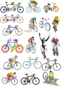 Bicycles Clip Art
