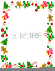 Clipart Christmas Stockings Borders Image