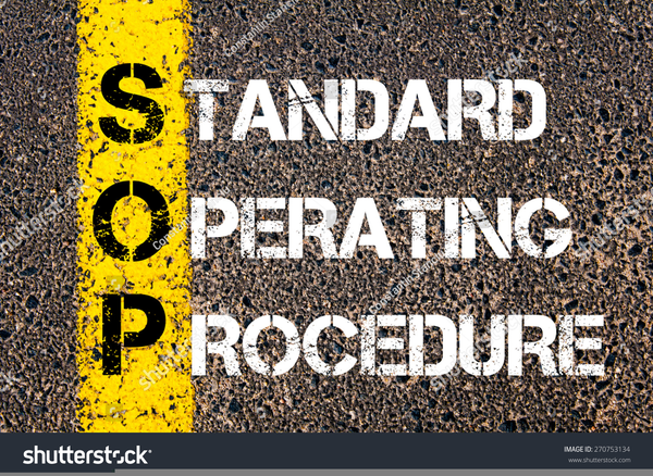 standard operating procedure clipart free images at