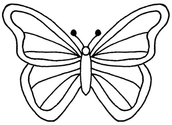 large simple coloring pages - photo #39