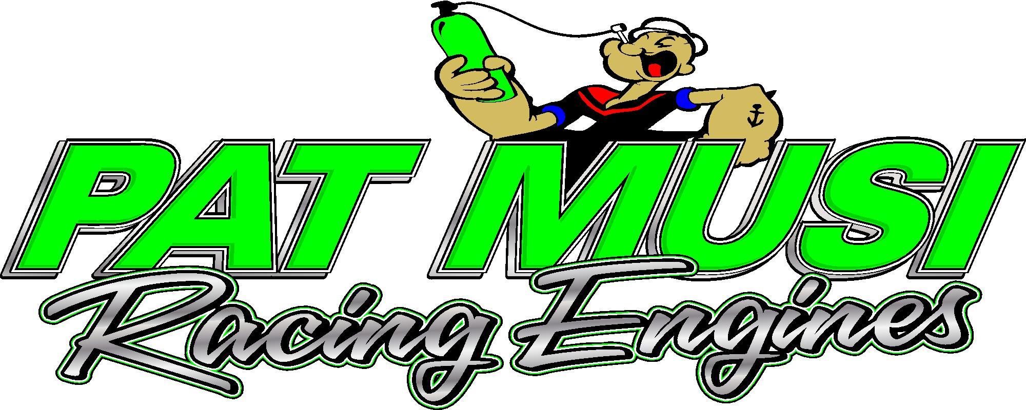 Pat musi racing engines sticker