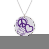 Love Volleyball Necklace Image