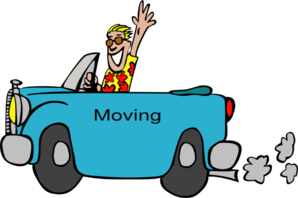 People Moving  Clip Art