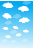 Sky With Clouds Clip Art