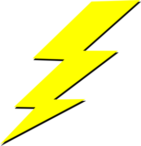 Lightning Bolt Md | Free Images at Clker.com - vector clip ...
