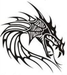 Tribal Dragon Image