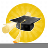 Clipart Of Diploma And Cap Image