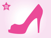 Clipart Red High Heel Shoe Image