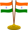 India Flags Clip Art