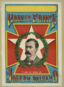 Harry C. Franck As Joseph Balsamo Image