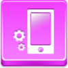 Free Pink Button Phone Settings Image