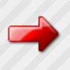 Icon Arrow Right Red Image