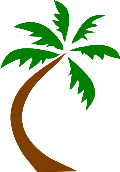 Palm Tree Curved Clip Art Clip Art at Clker.com - vector ... Apple Safari Logo No Background