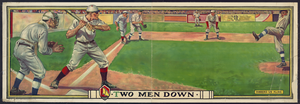 Two Men Down  / C. G & S. Inc. Litho., N.y. Image