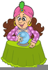 Fortune Teller With Crystal Ball Clipart Image