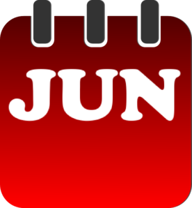 june calendar clip art at clker com vector clip art online rh clker com june clip art photos june clipart 2018