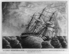 U.s. Ship Independance, Razee, Bearing The Broad Pennant Of Com. Charles Stewart, Struck By A Squall, Off The Coast Of America, Sept. 8th 1842. Drawn By George Filley, One Of The Crew  / E.b. & E.c. Kellogg, 144 Fulton St., N.y. & 136 Main St. Hartford, Conn. Image