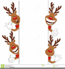 Free Cartoon Character Christmas Clipart Image