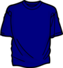 Blue T Shirt Md Image