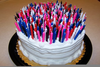 Clipart Of Birthday Cake With Candles Image