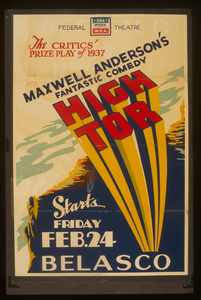 The Critics Prize Play Of 1937 Maxwell Anderson S Fantastic Comedy  High Tor  Image