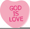 Free Christian Valentine Clipart Image