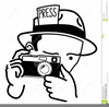 Journalist Clipart Image