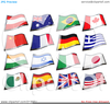 Flags Europe Clipart Image