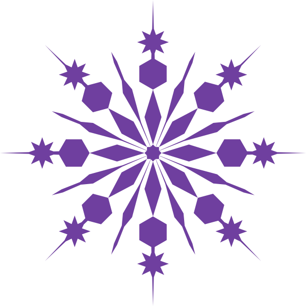 clipart snowflake background - photo #45