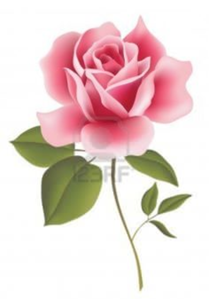 Clipart Free Pink Rose | Free Images at Clker.com - vector ...