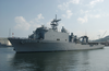 Uss Harpers Ferry Arrives In Sasebo Image