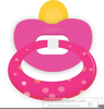 Animated Pacifier Clipart Image