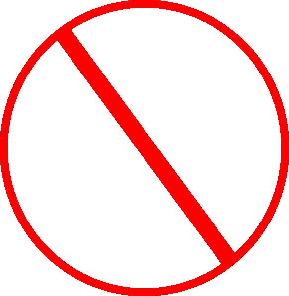 Anti Symbol Clip Art a...