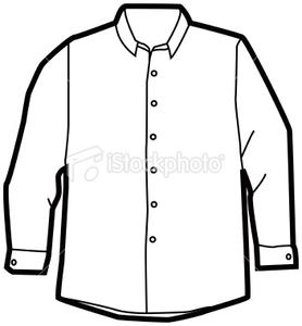 dress shirt free images at clker com vector clip art online rh clker com Pants Clip Art long sleeve t shirt clip art
