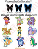 Dora The Explorer Characters Clipart Image