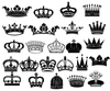 King And Queen Crowns Clipart Image