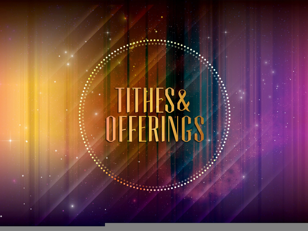 Tithe Offering Church Clipart Free Images At Clkercom Vector
