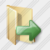Icon Folder Out Image
