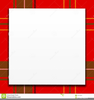 Red Plaid Clipart Image