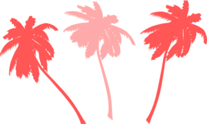 Vector Palm Trees Clip Art