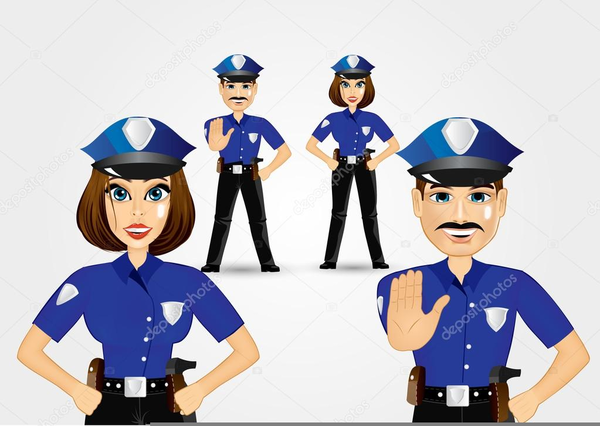 Free Police Woman Clipart | Free Images at Clker.com ...